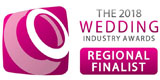 Wedding Industry Awards Finalist Red Hat Magic
