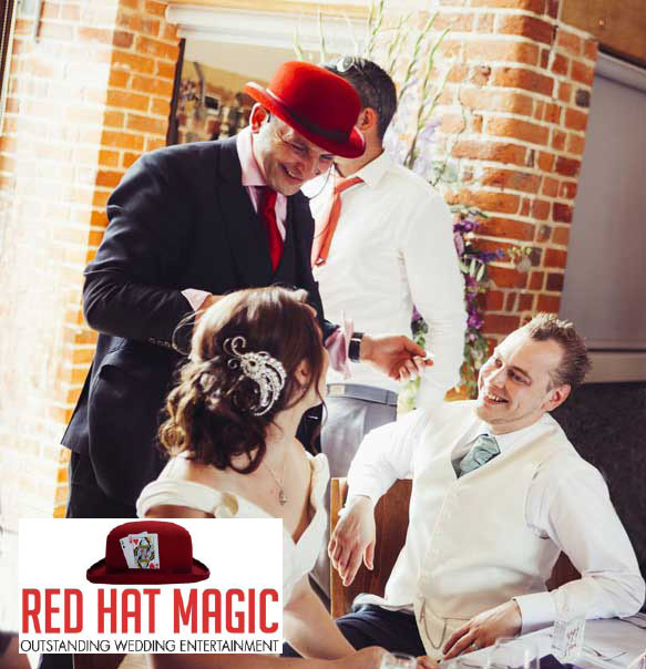 wedding magician surrey Red Hat Magic